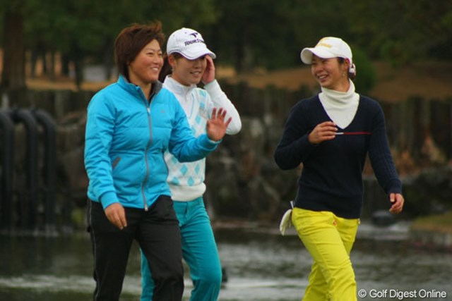 2011年 LPGA新人戦 加賀電子カップ 最終日 工藤遥加 「父に嬉しい報告ができます」と、工藤遥加が父に捧げるプロ初V!