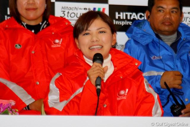 Hitachi 3Tours Championship 2011 事前情報 横峯さくら チーム最多となる6回目の出場となる横峯さくら。チームの中核を担う立場だ