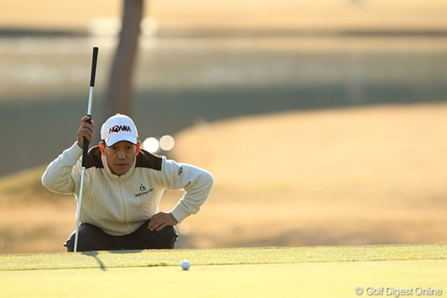 なかなか日本語がお上手な金プロ。大人のゴルフを見せてくれた。