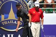 2011年 タイランドゴルフ選手権 最終日 リー・ウェストウッド チャール・シュワルツェル