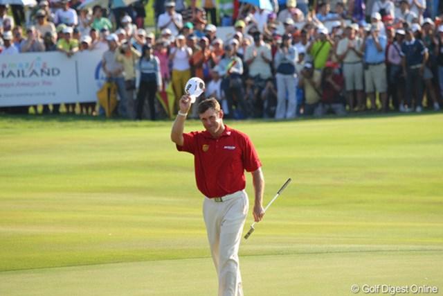 2011年 タイランドゴルフ選手権 最終日 リー・ウェストウッド リー・ウェストウッドの異次元のゴルフにタイのギャラリーは酔いしれた