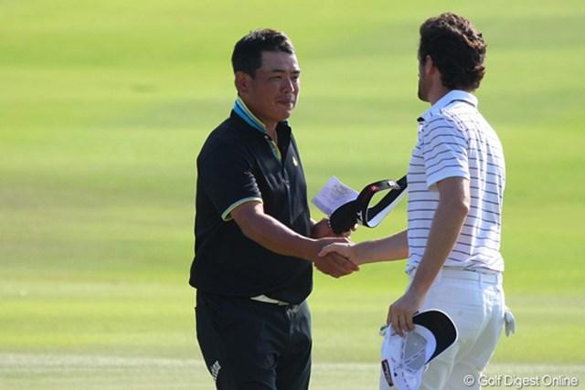 2011年 タイランドゴルフ選手権 最終日 平塚哲二 日本とアジアをまたにかける平塚哲二は今季最終戦を9位でフィニッシュ