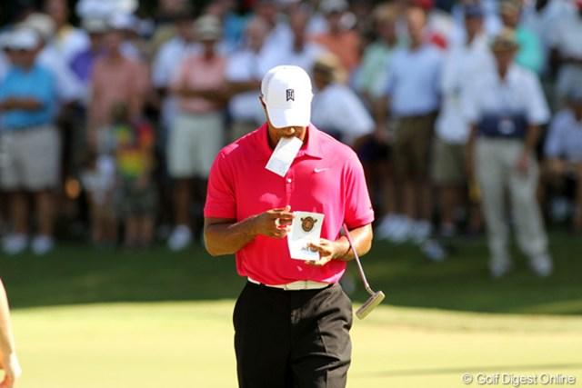 タイガーは自身がホストを務めるチャリティ大会で約2年ぶりの優勝を果たした。復活への道をゆっくりと、ゆっくりと歩んでいる。(写真は2011年の全米プロゴルフ選手権)