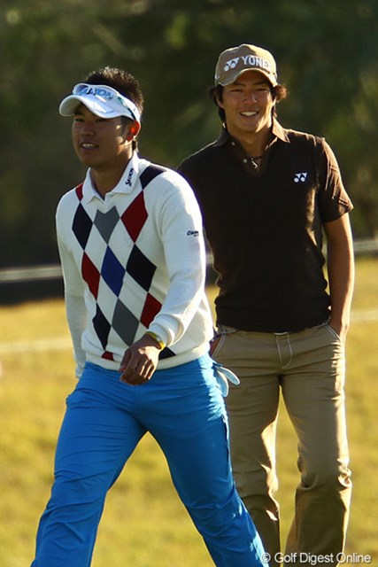 2011年には同い年の松山英樹の活躍に湧いた日本男子ゴルフ界。石川遼が待ちに待った好敵手が出現した。(画像は2011年カシオワールドオープンより)