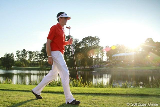 WORLD キーガン・ブラッドリー 初めて出場したメジャー、全米プロゴルフ選手権で勝利したキーガン・ブラッドリー。その先に待ち受けるのは果たして?