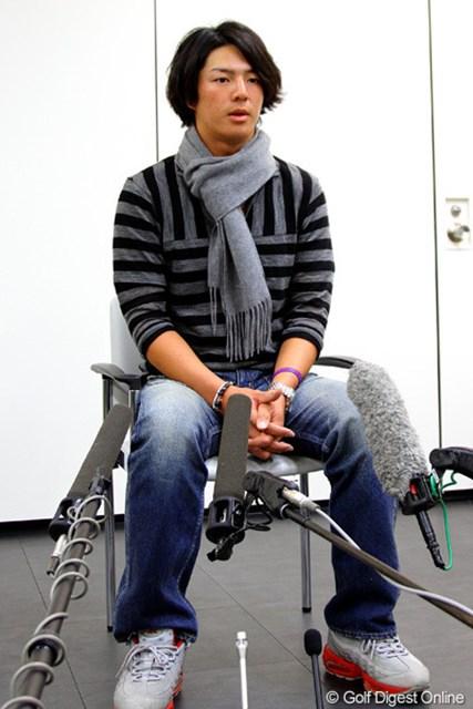 今季の自身初戦となる「ソニーオープンinハワイ」出場に向け出国した石川遼