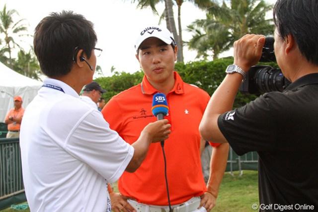 2012年 ソニーオープンinハワイ 初日 ベ・サンムン 韓国メディアも熱視線 ベ・サンムンへの期待