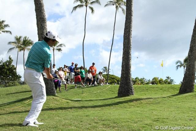 前半の好調がまるでうそのように後半は大崩れ。かくもゴルフは恐ろしい