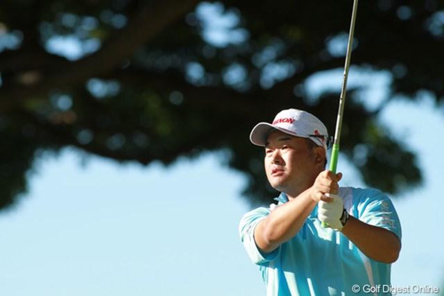 日本勢最高位となる3アンダー39位タイで決勝ラウンドに進出した小田孔明