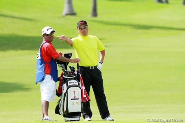 2012年 ソニーオープンinハワイ 3日目 小田孔明 日本勢でただ1人最終ラウンドに進出した小田孔明