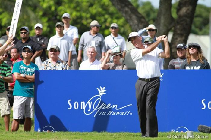 予選を通過した選手の中に52歳のペイビンもいた!34位タイで最終日に臨む 2012年 ソニーオープンinハワイ 3日目 コーリー・ペイビン