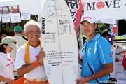 2012年 ソニーオープンinハワイ 最終日 「がんばりましょう」