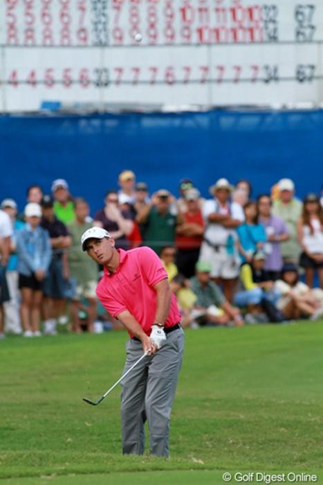 ワイアラエと相性の良いハウエルは、今年も2位タイに入った 2012年 ソニーオープンinハワイ 最終日 チャールズ・ハウエルIII