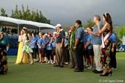2012年 ソニーオープンinハワイ 最終日 ハイヒールで~っ!