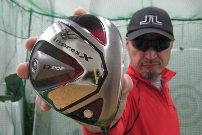 ゴルフライターのマーク金井が「ヤマハ インプレスX Z202 ドライバー」を試打レポート マーク試打 ヤマハ インプレスX D202 ドライバー NO.1