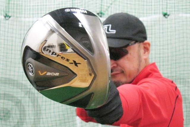 ゴルフライターのマーク金井が「ヤマハ インプレスX V202」を試打レポート