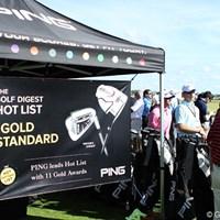 こちらでもHotList受賞が、コンシューマーへのアピールとなることがわかるだろう 2012年 PGAショー デモDay PING