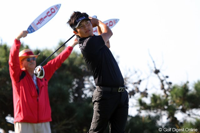 2012年 ファーマーズ・インシュランスオープン2日目 今田竜二 今季はまだ日曜日にプレーが出来ていない今田竜二。次週以降に期待がかかる