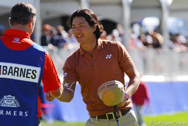 2012年 ファーマーズ・インシュランスオープン3日目 石川遼 3日間連続で「69」をマークした石川遼。最終日にさらに順位を上げられるか