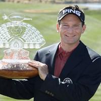 今シーズンの良い流れを継ぎ、大会連覇を狙うM.ウィルソン(Christian Petersen/Getty Images) 2012年 ウェストマネジメント フェニックスオープン 事前情報 マーク・ウィルソン