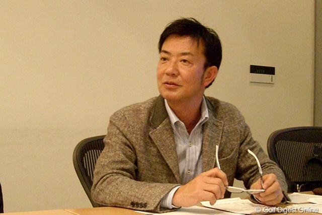 クラブのデータ計測を担当した松尾好員さんもサミットに出席した