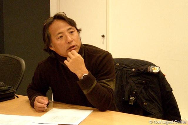 GDOでもお馴染みの金谷多一郎プロ。特別テスターとして重要な役割を担ってくれた