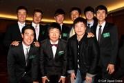 2012年 プレーヤーズラウンジ 韓国人プレーヤーたち
