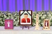 2012年 「杉原輝雄 お別れの会」 遺影