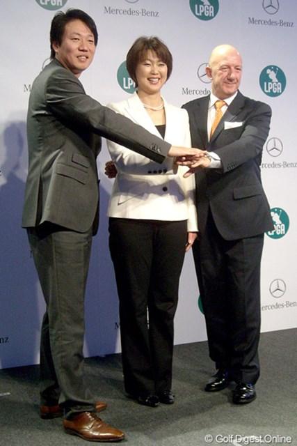 LPGAとメルセデス・ベンツが新体制! 今年、新たにポイントレースが展開される