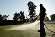 2012年 ノーザントラストオープン 2日目 散水