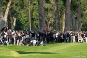 2012年 ノーザントラストオープン 最終日 フィル・ミケルソンとギャラリー
