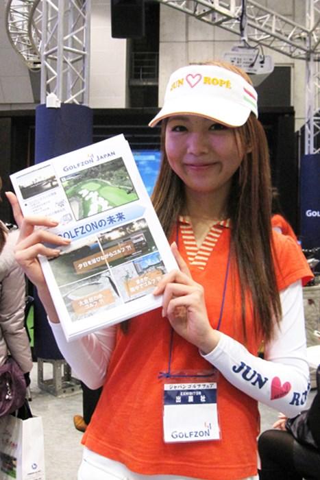 「GOLFZON Japan」のコンパニオン コンパニオンガール特集 ジャパンゴルフフェア2012 NO.13