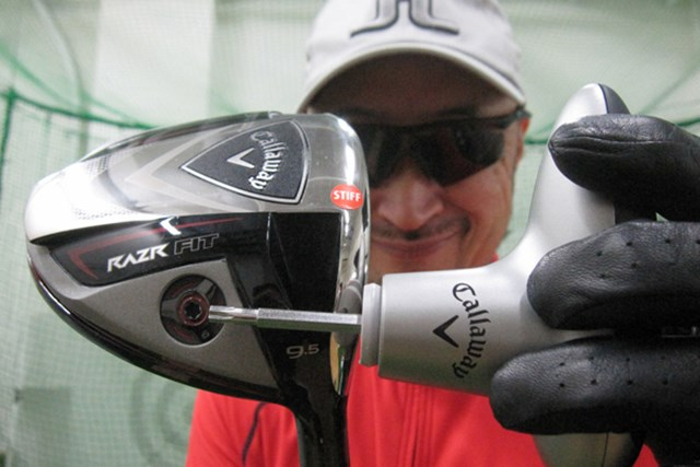 ゴルフライターのマーク金井が「キャロウェイRAZR FIT ドライバー」を試打レポート