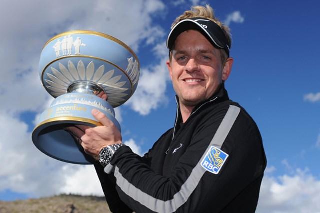世界ランク1位に君臨するL.ドナルドが連覇に挑む (Stuart Franklin /Getty Images)