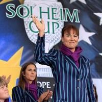 欧州チームが制した昨年のソルハイムカップ。グスタフソンにとって、ただの1勝ではなかった。(Getty Images/David Cannon) WORLD ソフィー・グスタフソン