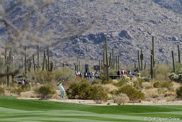 佐渡充高が簡単解説!初めてのPGAツアー【第二十六回】  開催地であるアリゾナ州マラナにあるザ・リッツ・カールトンGCは砂漠のコース