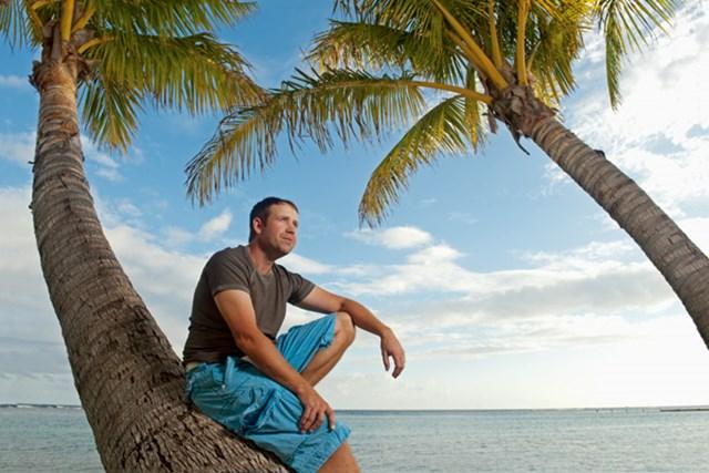 心臓移植手術を経てPGAツアーを戦うエリック・コンプトン。(J.D.Cuban/GW)