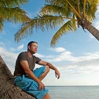心臓移植手術を経てPGAツアーを戦うエリック・コンプトン。(J.D.Cuban/GW) WORLD エリック・コンプトン