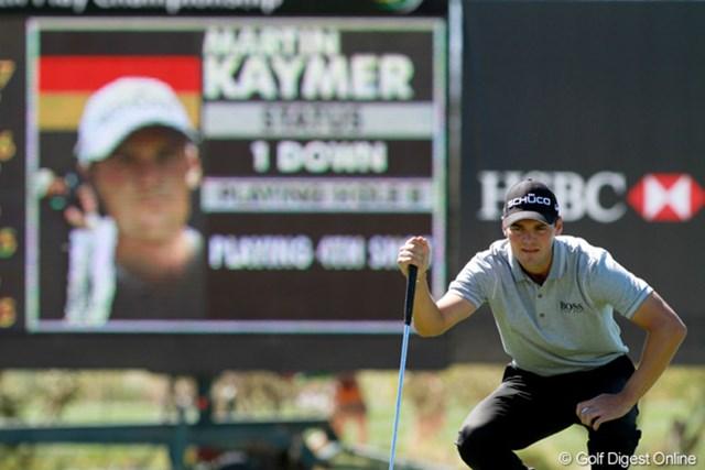 2012年 WGCアクセンチュアマッチプレー選手権 3日目 マーティン・カイマー 昨年は決勝戦を戦ったが、今年は3回戦敗退