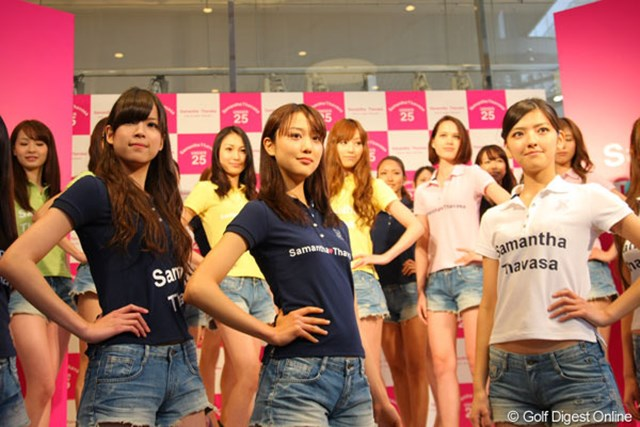 2012年 「U25 サマンサタバサ」発表会見 神戸コレクションセミファイナリス このイベントステージを華やかに飾った神戸コレクションセミファイナリストたち
