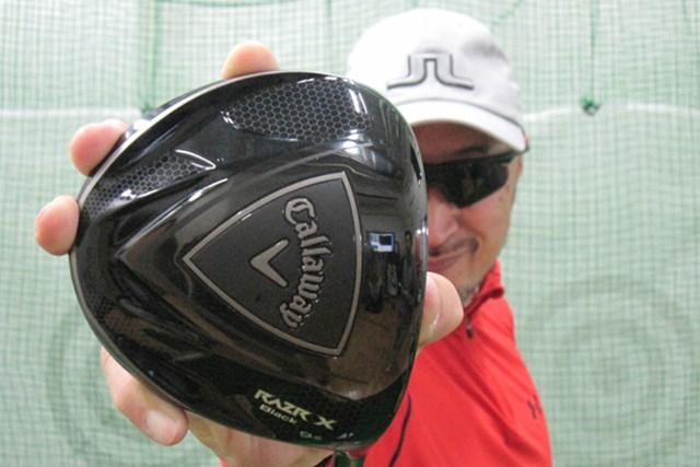 ゴルフライターのマーク金井が「キャロウェイ レーザーX ブラック ドライバー」を試打レポート