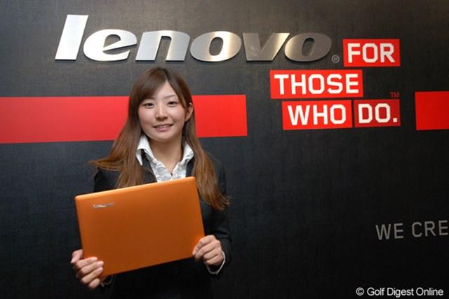 今季はLenovoのロゴを身につけルーキーイヤーを戦うことになった斉藤愛璃