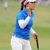 今年も堅実なゴルフで調子良さそうですなァ。韓流勢はオフにガッチリ練習するから強いんですワ。首位タイ 2012年 ダイキンオーキッドレディスゴルフトーナメント 初日 キム・ソヒ