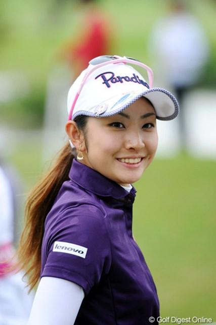 2012年 ダイキンオーキッドレディスゴルフトーナメント 初日 斉藤愛璃 2アンダー11位タイとした斉藤愛璃も昨年のプロテスト合格組の1人