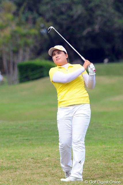 前年覇者の朴仁妃は首位に2打差。大会連覇を射程圏内につけて最終日を迎える
