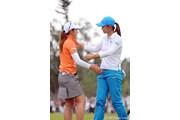 2012年 ダイキンオーキッドレディスゴルフトーナメント 最終日 斉藤愛璃 三塚優子