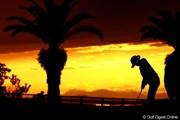 2012年 ヨコハマタイヤゴルフトーナメントPRGRレディスカップ 初日 練習グリーン
