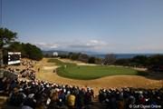 2012年 ヨコハマタイヤゴルフトーナメントPRGRレディスカップ 2日目 18番グリーン