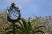 2012年 プエルトリコオープン最終日 時計