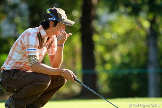 同大会3年連続の予選落ちとなった石川遼。グリーン上でタッチが合わず苦しんだ